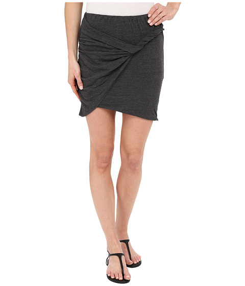 Imbracaminte Femei LnA Double Layer Mini Skirt Granite