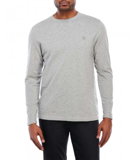 Imbracaminte Barbati Timberland Herring River Crew Neck Shirt Medium Grey Heather