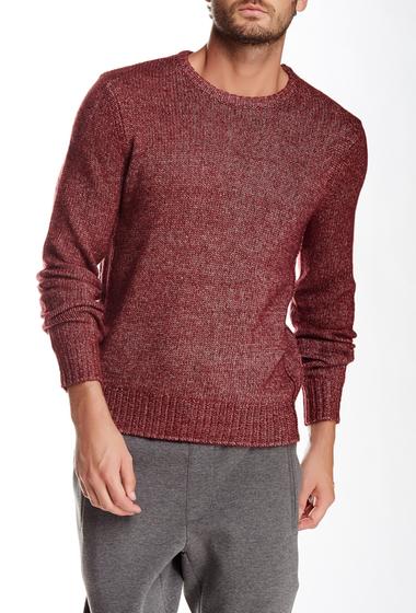 Imbracaminte Barbati Jack Spade Bromley Crew Neck Sweater BURGUNDY