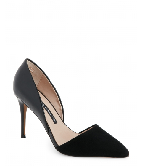 Incaltaminte Femei French Connection Black Elvia Pointed Toe d'Orsay Pumps Black Black