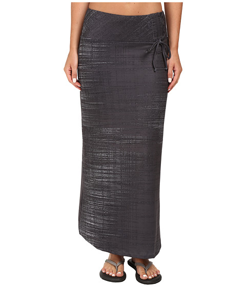 Imbracaminte Femei The North Face Empower Maxi Skirt Graphite Grey Scratchy Print