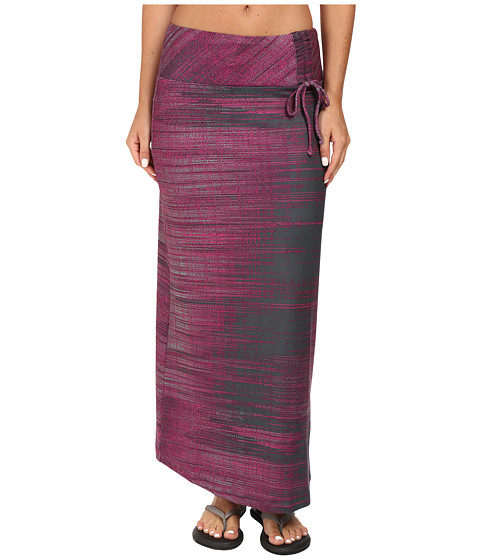 Imbracaminte Femei The North Face Empower Maxi Skirt Spruce Green Scratchy Print