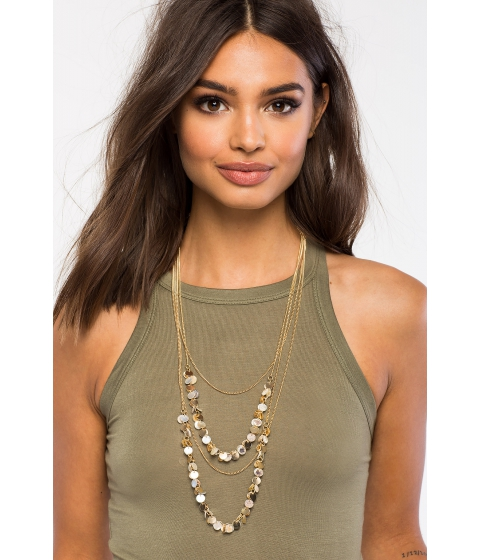 Bijuterii Femei CheapChic Boho Chip Layer Necklace Met Gold