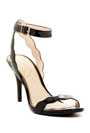 Incaltaminte Femei Jessica Simpson Morena Heel Sandal BLACK
