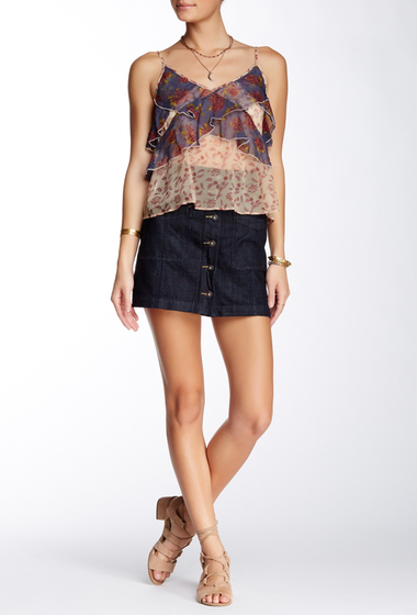 Imbracaminte Femei Free People Come a Little Closer Denim Skirt RINSE WASH