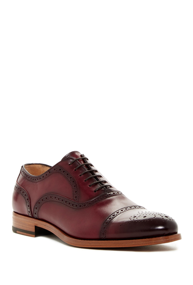 Incaltaminte Barbati Antonio Maurizi Semi Brogue Oxford BORDO