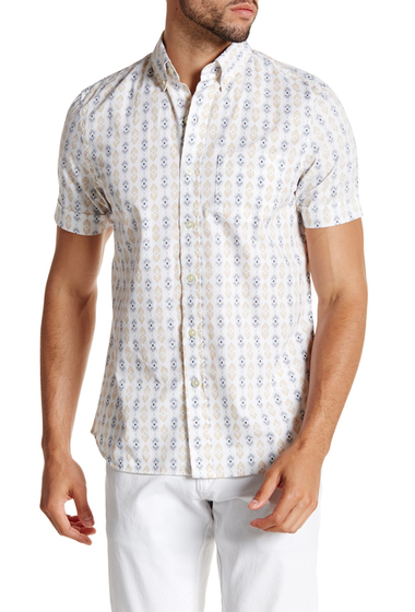 Imbracaminte Barbati Kennington Short Sleeve Trim Fit Shell Shirt SKY