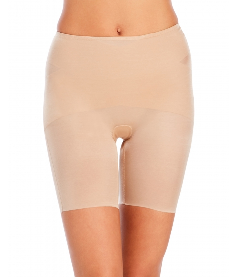 Imbracaminte Femei Spanx Skinny Britches Mid-Thigh Shaper Natural