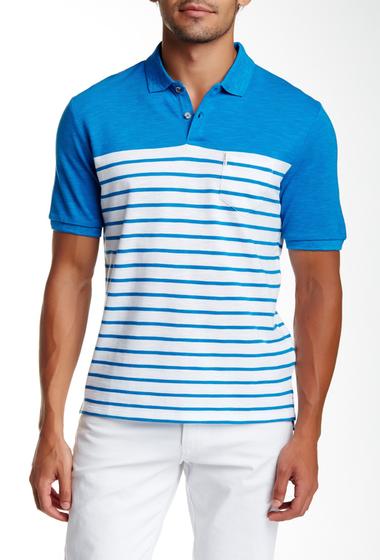 Imbracaminte Barbati Ben Sherman Slub Knit Breton Polo Shirt 891OCEAN B