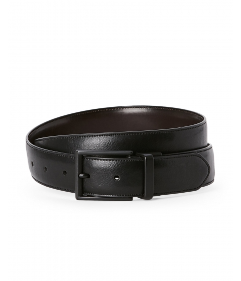 Accesorii Barbati Kenneth Cole Reaction Dark Brown Black Reversible Belt Black Dark Brown