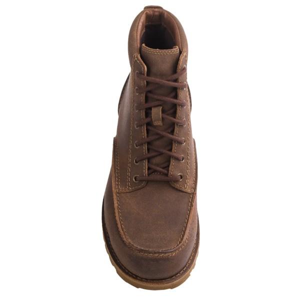 Incaltaminte Barbati UGG UGG Australia Fallbrook Boots - Leather CHESTNUT (01)