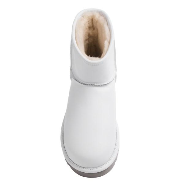 Incaltaminte Barbati UGG UGG Australia Classic Mini Deco Boots - Leather WHITE (01)