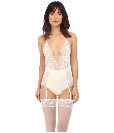 Imbracaminte Femei Calvin Klein Seduce Bodysuit Ivory