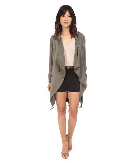 Imbracaminte Femei Brigitte Bailey Mireya Waist-Tie Jacket Olive