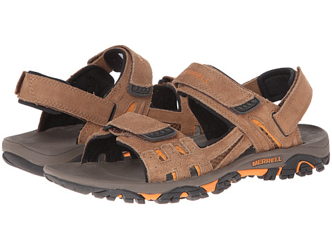 Incaltaminte Barbati Merrell Moab Drift Strap Dark Earth