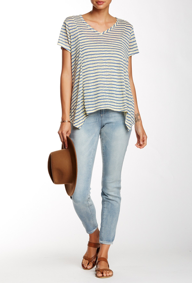 Imbracaminte Femei Seven7 Jeans Tummy-Less Legging Cielo