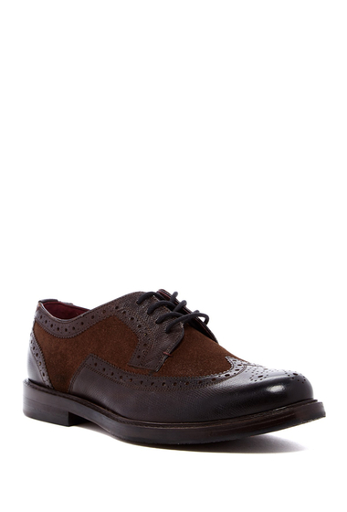 Incaltaminte Barbati Ted Baker London Ttanum Lace-Up Derby DARK BROWN
