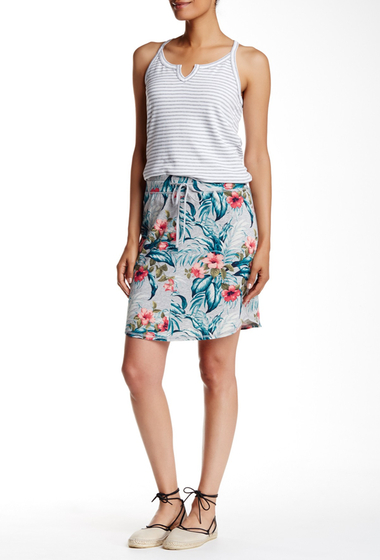 Imbracaminte Femei Tommy Bahama Beachy Blossoms Skirt FOSSIL GRE