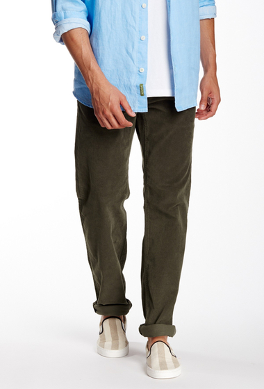 Imbracaminte Barbati Tommy Bahama Parker Vintage Straight Corduroy Pant MADURO