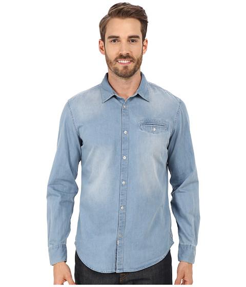 Imbracaminte Barbati Calvin Klein Long Sleeve Shirt Light Bleu Wash