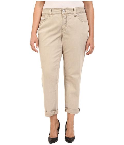 Imbracaminte Femei Jag Jeans Plus Size Alex Relaxed Boyfriend Jeans in Supra Colored Denim Desert Desert