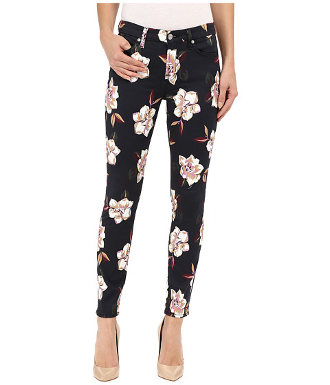 Imbracaminte Femei 7 For All Mankind The Ankle Skinny with Contour WB in Calypso Floral Calypso Floral