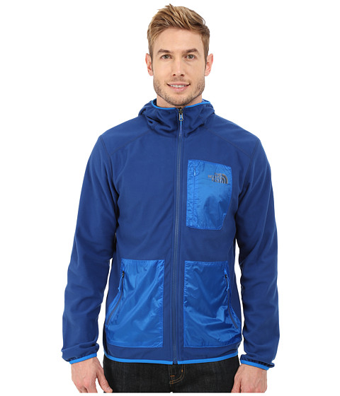 Imbracaminte Barbati The North Face Wilkens Reversible Wind Hoodie Limoges BlueBomber Blue