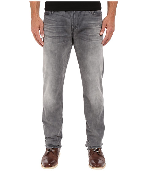 Imbracaminte Barbati 7 For All Mankind The Straight in Mercury Grey Mercury Grey
