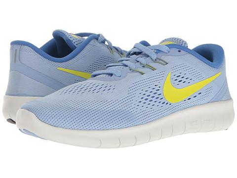Incaltaminte Fete Nike Free RN (Big Kid) AluminumElectrolimeMedium Blue