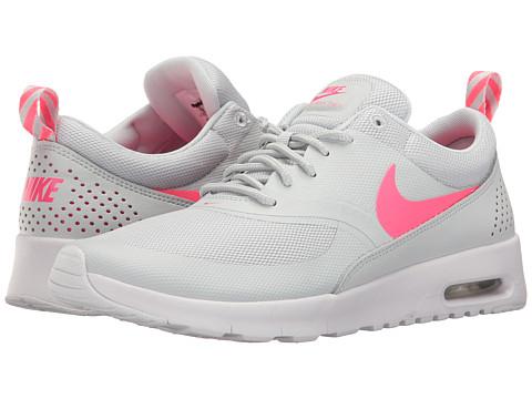 Incaltaminte Fete Nike Air Max Thea (Big Kid) Pure PlatinumRacer PinkWhite