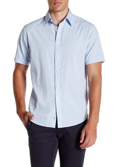 Imbracaminte Barbati James Campbell Pilsen Regular Fit Shirt SKY