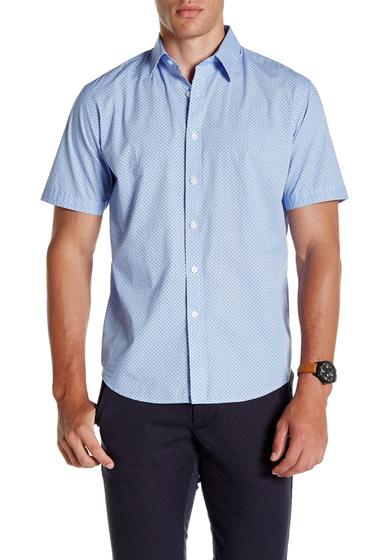 Imbracaminte Barbati James Campbell Remini Woven Regular Fit Shirt BLUE