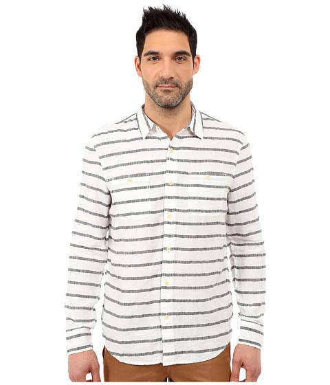 Imbracaminte Barbati Lucky Brand Striped Linen Shirt BlackWhite