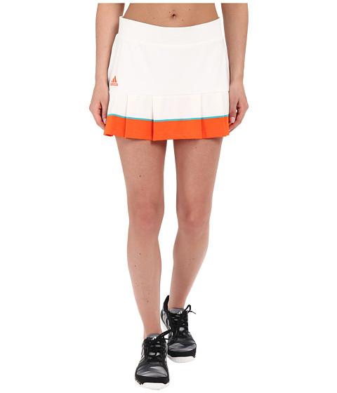 Imbracaminte Femei adidas All Premium Skorts WhiteSuper OrangeEQT Green