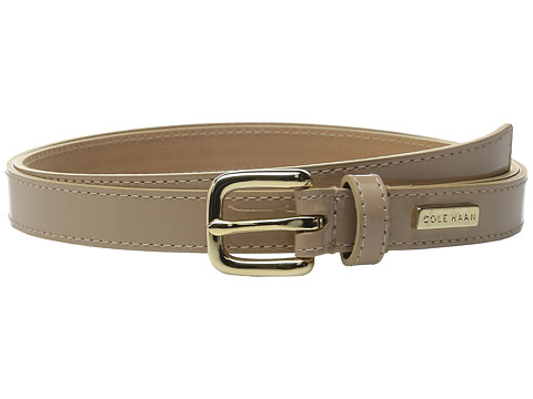 Accesorii Femei Cole Haan 34quot Smooth Patent Belt Maple Sugar