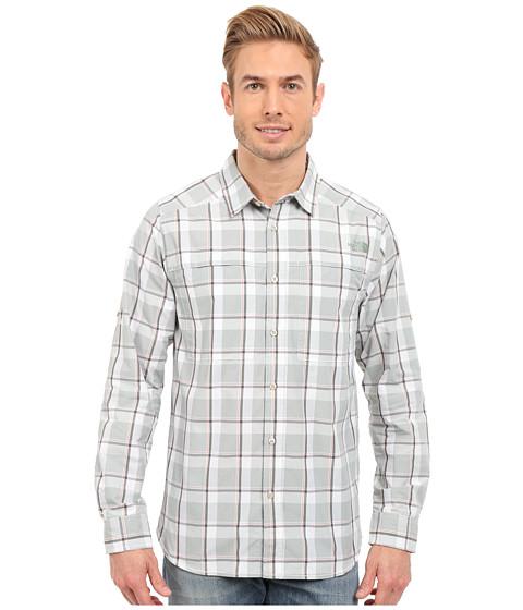 Imbracaminte Barbati The North Face Long Sleeve Traverse Plaid Shirt Spruce Green Plaid