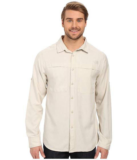 Imbracaminte Barbati The North Face Long Sleeve Traverse Shirt Moonstruck Grey Heather (Prior Season)