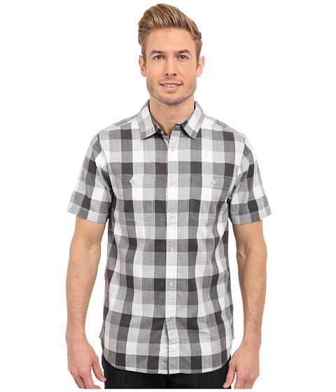 Imbracaminte Barbati The North Face Short Sleeve Shadow Gingham Shirt Asphalt Grey Plaid (Prior Season)