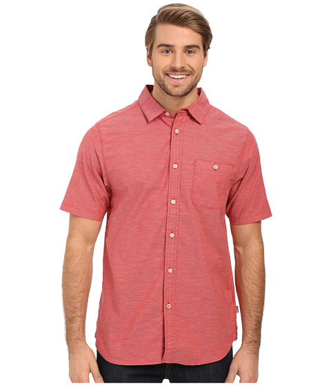 Imbracaminte Barbati The North Face Short Sleeve Red Point Shirt Pompeian Red (Prior Season)