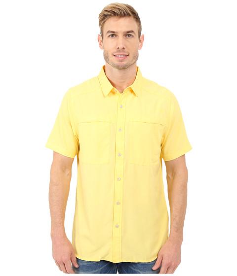 Imbracaminte Barbati The North Face Short Sleeve Traverse Shirt Goldfinch Yellow Heather
