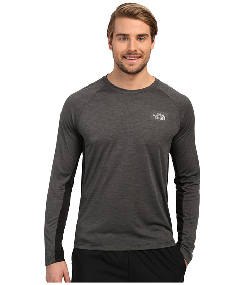 Imbracaminte Barbati The North Face Ambition Long Sleeve Shirt TNF Black Heather