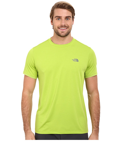 Imbracaminte Barbati The North Face Ampere Short Sleeve Crew Macaw Green