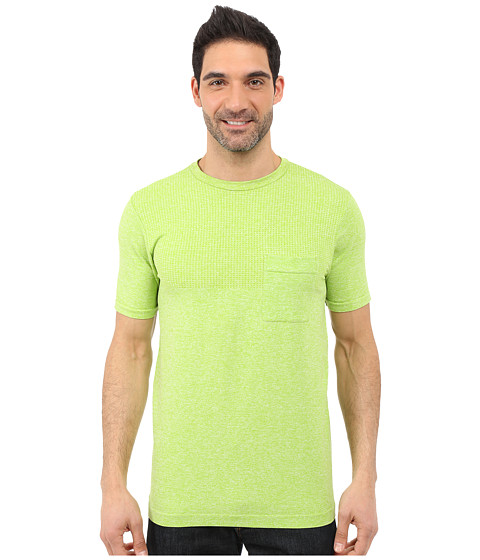 Imbracaminte Barbati The North Face Short Sleeve Engine Crew Macaw Green Heather