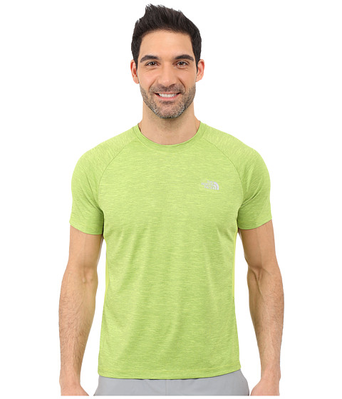 Imbracaminte Barbati The North Face Ambition Short Sleeve Shirt Macaw Green Heather (Prior Season)