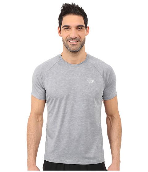 Imbracaminte Barbati The North Face Ambition Short Sleeve Shirt TNF Medium Grey Heather (Prior Season)