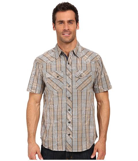 Imbracaminte Barbati Ecoths Weston Short Sleeve Shirt Silver Blue