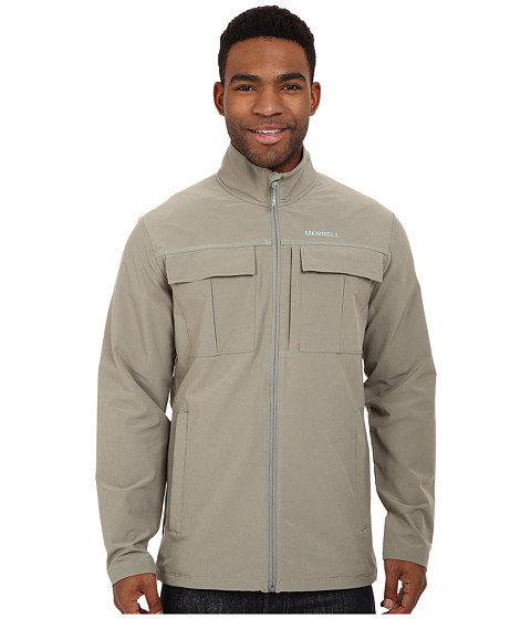 Imbracaminte Barbati Merrell Stapleton SE Travel Jacket Putty