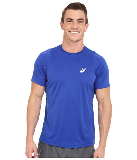 Imbracaminte Barbati ASICS Club Short Sleeve Top Airforce Blue