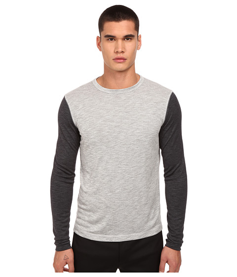 Imbracaminte Barbati Theory Billey BAnemone T-Shirt Grey Multi