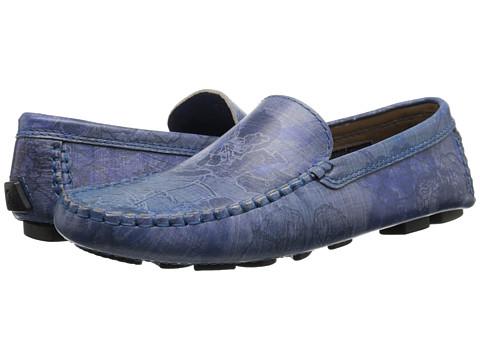 Incaltaminte Barbati Robert Graham Verrazano 4 Blue Floral Leather